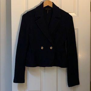 BCBGMaxAzria Peplum Knit Jacket